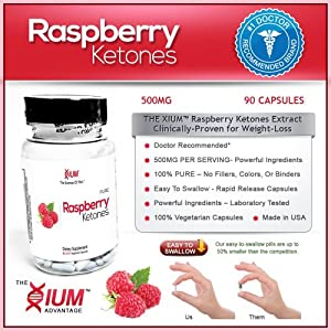 Raspberry Ketones 30 Capsules - 1 Bestselling Weight Loss - 3 Day Sale from Accelerated Intelligence Inc.