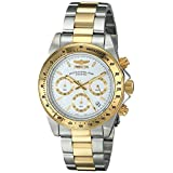 Invicta Men's 9212 Speedway Collection 18k Gold-Plated and Stainless Steel Watch ~ Invicta