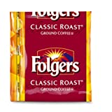 FOLGERS Classic Roast Coffee Regular Fraction Packs 09 Ounce Boxes  Pack of 150