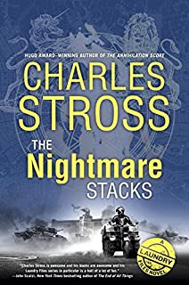 Book Cover: The Nightmare Stacks: A Laundry Files Novel