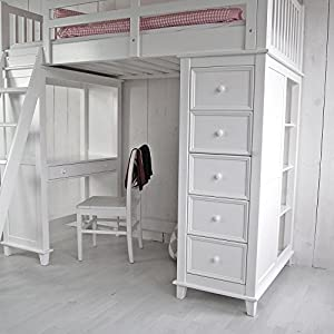 multifunktions hochbett jockey inkl regalen 5. Black Bedroom Furniture Sets. Home Design Ideas