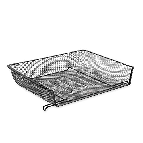 Rolodex ROL62555 Nestable Mesh Stacking Side Load Letter Tray Wire (Letter Tray Wire compare prices)