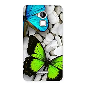 The Awesome Colorfull Butterflies Back Case Cover for Coolpad Note 3