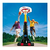 Little Tikes Easy Store Basketball Set, Multi Color