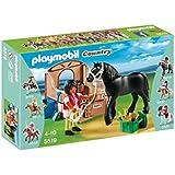 Playmobil - 5519 - Cheval Frison et son paddock