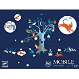 DJECO Large 'An Unusual Night' Luminous Mobile 80cms Wide