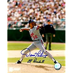 Autographed Hand Signed Dennis Martinez Montreal Expos 8x10 Photo