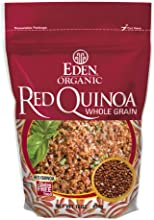 Eden Organic Red Quinoa Whole Grain 16-Ounce Pouches Pack of 4