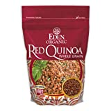 Eden Organic Red Quinoa, Whole Grain, 16-Ounce Pouches (Pack of 4) ~ Eden