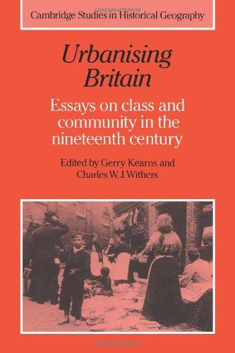 Essays on the british economy of the nineteenth century