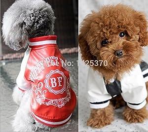 chien casual costumes perros coat puppy manteau shih tzu clothing