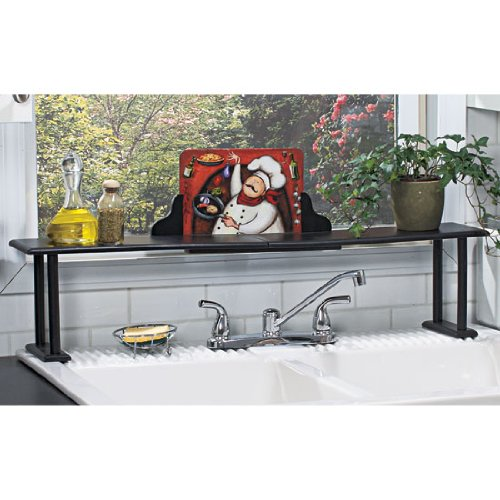 Fat Chef Over The Sink Kitchen Storage Shelf Amazon Home Kitchen