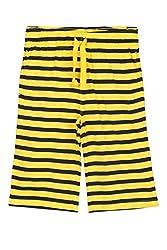 Ajile by Pantaloons Boy's Cotton Shorts (205000005633451, Yellow, 11-12 Years)