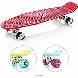 EightBit 27 Inch Complete Skate Board - Retro Skateboard