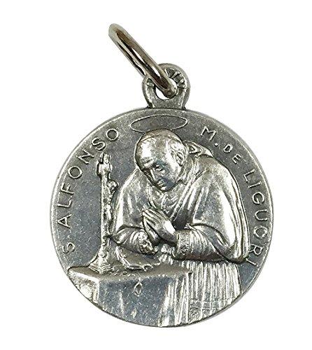 イタリア製メダイ 聖アルフォンソ・デ・リゴリ(St.Alphonsus Maria de Liguori)