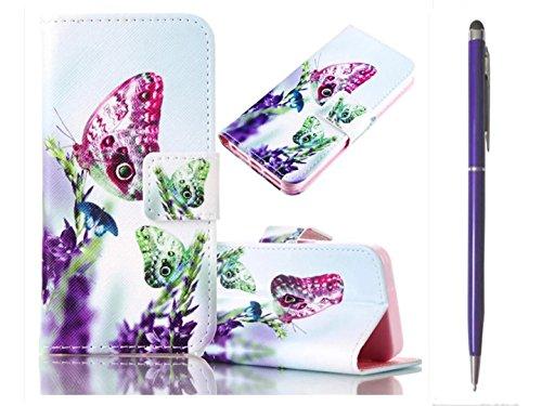 Étui pour iPhone 6/iPhone 6S 4.7Étui BookStyle PU Chargeur Housse tkshop Wallet Etui flip en cuir Portefeuille avec fonction support Motif Card