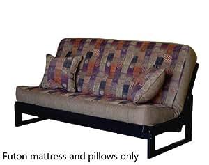 full size futon sofa mattress tufted in