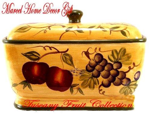 Tuscany Fruit Bread Box