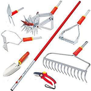 Wolf garten vegetable garden tool kit patio for Gardening tools kit set india