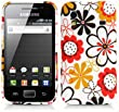 Samsung Galaxy Ace Silikoncase Cover H�lle. Blumen Schutzh�lle f�r Samsung Galaxy Ace