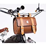 Comfortable Soft Vintage Bicycle Saddle or Handlebar Tools Bag