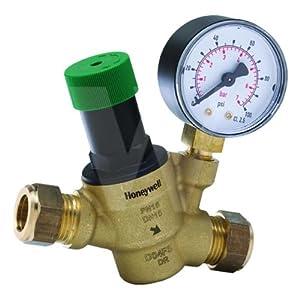 honeywell d04fs 1 2zgc pressure reducing valve with gauge home improvement. Black Bedroom Furniture Sets. Home Design Ideas