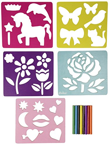 Vilac Girly Stencils Set