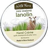 Wild Ferns New Zealand Lanolin Hand Cream with Chamomile and Aloe Vera