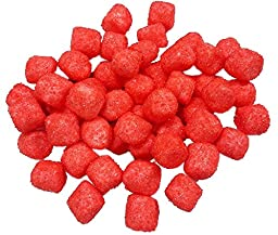 Sugared MINI Marshmallows Red 1 Pounds 380 Pieces