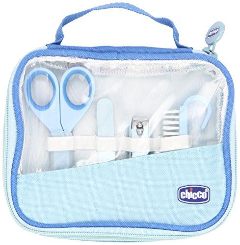 Chicco 00010019000000 - Igiene e benessere, Set manicure bambino, colore: Blu