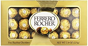 Ferrero Rocher Gift Box, 18 Count