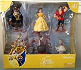 Disney Parks Beauty and the Beast Collectible Figurine Playset Play Set Cake Topper NEW 2013 RELEASE