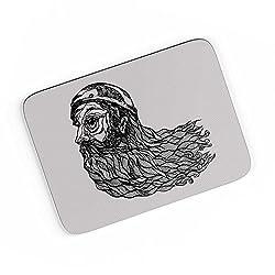 PosterGuy A4 Mouse Pad - Beard God | Designed by: CW Doodler