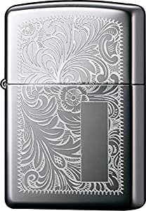 Zippo Venetian Lighter - High Polished Chrome