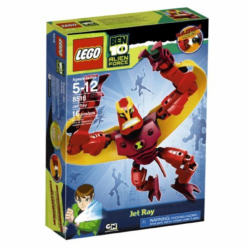 Lego Ben 10 Alien Force Jet Ray (8518) By Lego Picture