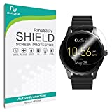 #1: RinoGear Premium HD Invisible Clear Shield Fossil Q Marshal Screen Protector [6-PACK] Full Coverage [Military-Grade] w/ Lifetime Replacements