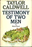 Testimony of Two Men (0385071663) by Caldwell, Taylor