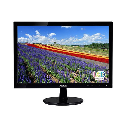 Asus Vs197D-P 18.5-Inch Hd Lcd Monitor back-235945