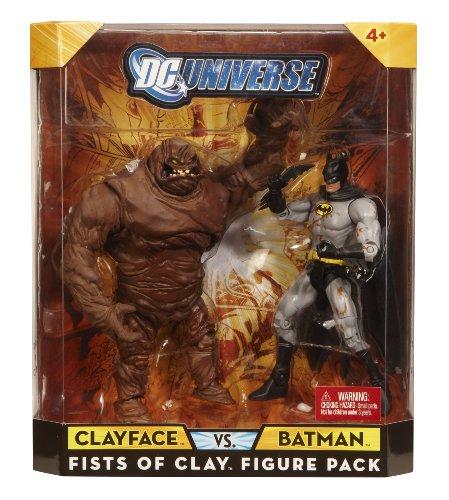 : Mattel DC Universe Batman / Clayface Figures 2-Pack