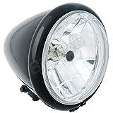 Big-One (ビッグワン) バイク ヘッドライト H4 5.5inch ベーツライト Crystal BK 27563