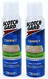 2 x Scotchgard Rug And Carpet Foaming Cleaner With Scotchgard Protector