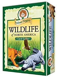 Educational Trivia Card Game - Professor Noggin's Wildlife of North America