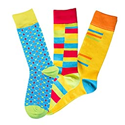 Tie Your Socks Men\'s 3-Pack Option 1