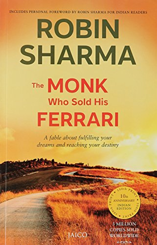 The Monk Who Sold His Ferrari by Robin Sharma is not just a simple book, its a holy scripture for those who want an amusing life, great relationships, a career that is full of creativity and at the end of the day a luxurious life. The applications are easy to use and effective.  Robin Sharma encapsulates the lore of past and present in a reader friendly manner. The do it yourself manual tabulates the step by step method needed for personal achievements.  The story follows the life of a millionaire lawyer who sells off all his property to make a journey to India in order to find the purpose of his life. He comes across saints in Himalayas who give him a practical way of living.  This book teaches us:-  . The purpose of your life . The power of discipline . The most precious commodity . The wisdom of personal change . The ancient old custom of self leadership  The writing is lucid and the story gripping. A must have for all book lovers.