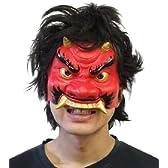 半面マスク 鬼