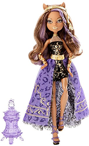 Mattel Monster High Y7705 -  13 Wünsche Party Clawdeen, Puppe