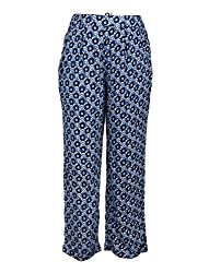 Chicabelle Girls' Jogger Pants (CH-34A_Navy White_12-14 Years)