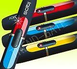 【iQOS アイコス】ホルダー専用スキンシール 高品質ステッカー ホルダーのボタン周りを飾るシール 3色セット