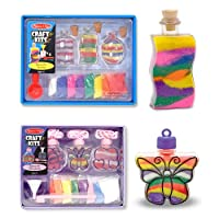 Melissa & Doug Sand Art Bundle contains Bottles and Pendants from Melissa & Doug