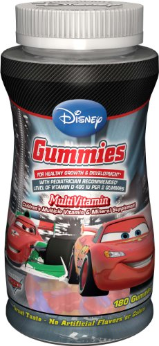 DISNEY MULTIVITAMIN CAR'S - BONBONS
